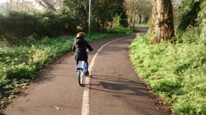 Travelling to school by bike