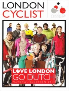 London Cyclist February 2012 Love London, Go Dutch
