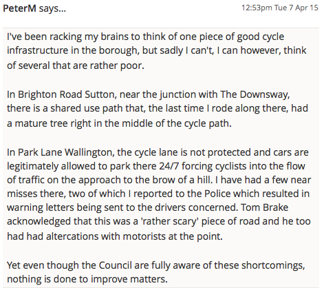 SuttonGuardian_CycleStrategyLetter_April2015_Comment1