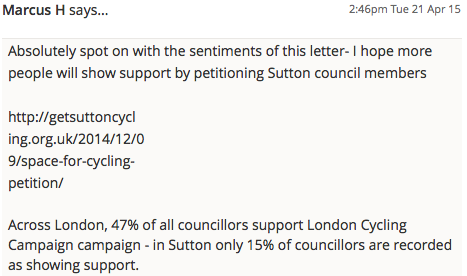 SuttonGuardian_CycleStrategyLetter_April2015_Comment3