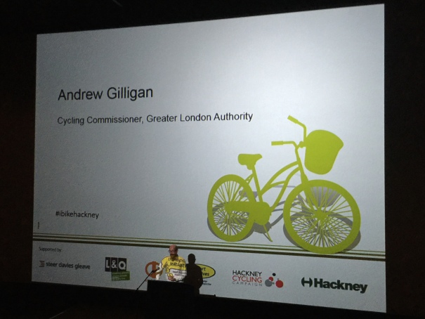 Andre Gilligan, Cycling Commissioner