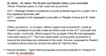 Extract from Appendix A LCC Ward Asks
