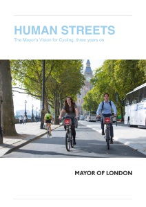 Human_streets_MayorsVisionForCyclingThreeYearsOn_20160324_Cover