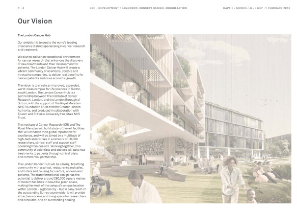 Sutton2031_Draft London Cancer Hub Development Framework_Page08