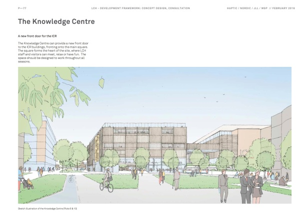 Sutton2031_Draft London Cancer Hub Development Framework_Page77