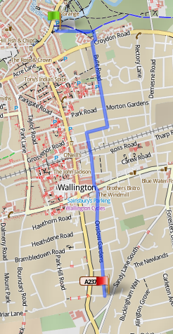 wallington superhighway