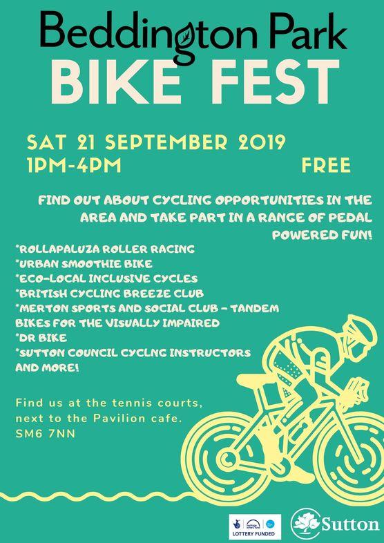 Bike Fest - Sat 21 Sept 2019