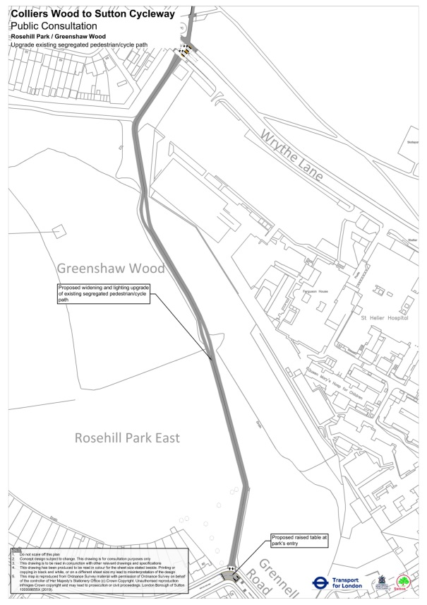 SuttonToColliersWoodCycleway_StHelierArea_07_RosehIllPark_GreenshawWood