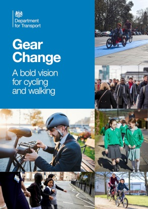 GearChange_ABoldVisionForCyclingAndWalking_DfT_July2020_Page01_Cover